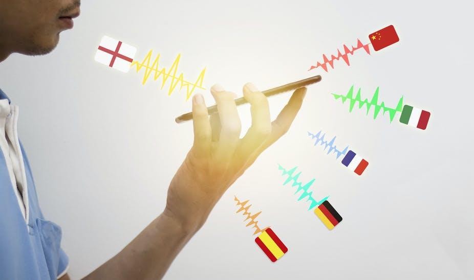 telephone avec choix du pays de la langue